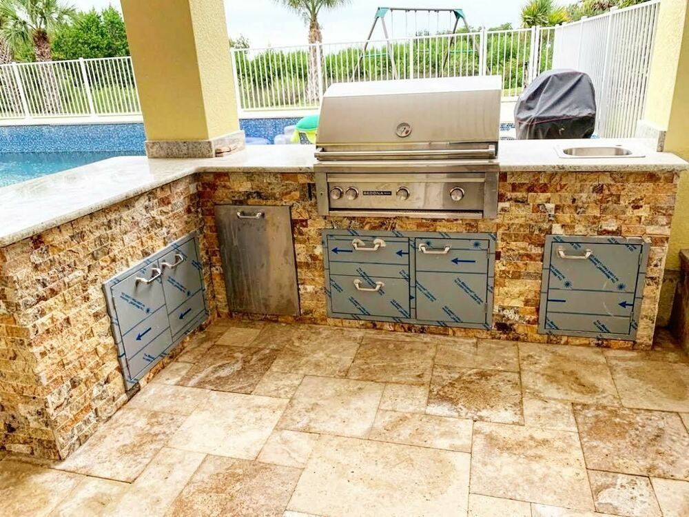 Aluminum Outdoor Kitchen Frames selling Only in Florida