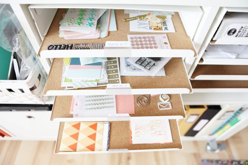 Genius Idea Ikea Expedit Shelves With Baskets For Storage: Pull-out Kvissle Letter Trays From Ikea