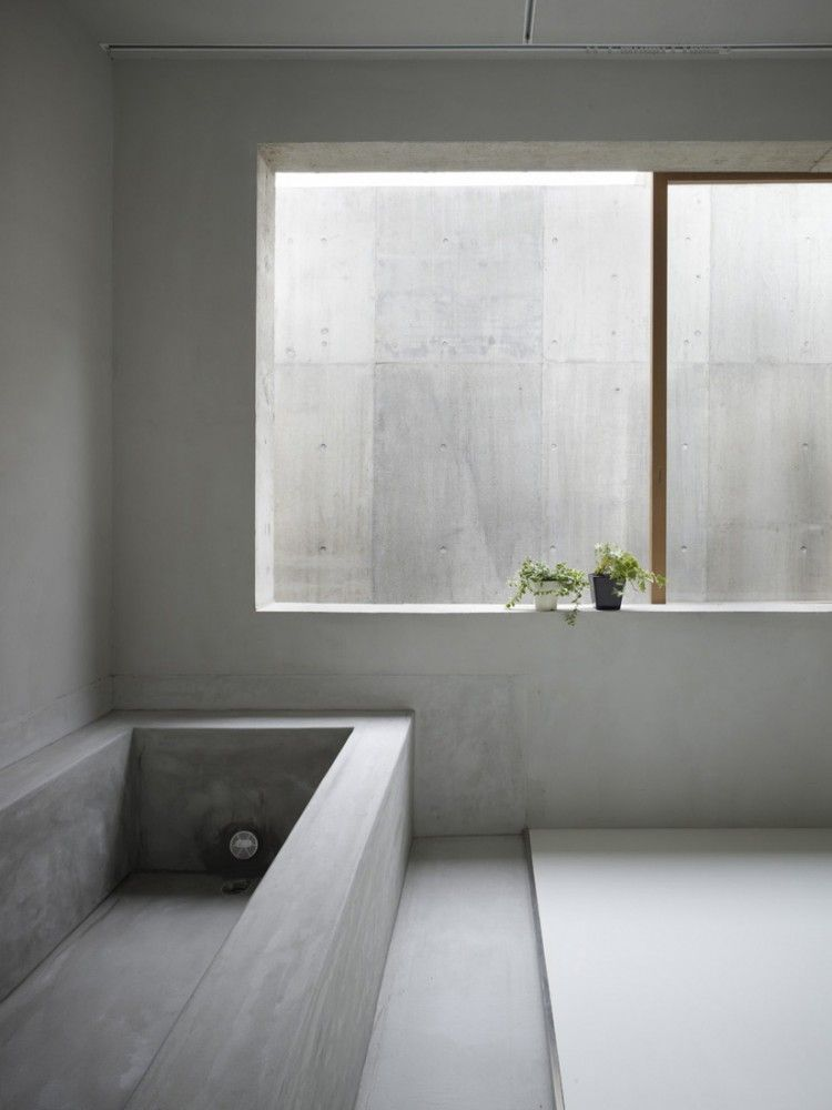 Office Bathroom Designs Gorgeous House In Koamicho  Suppose Design Office  House Concrete And Inspiration