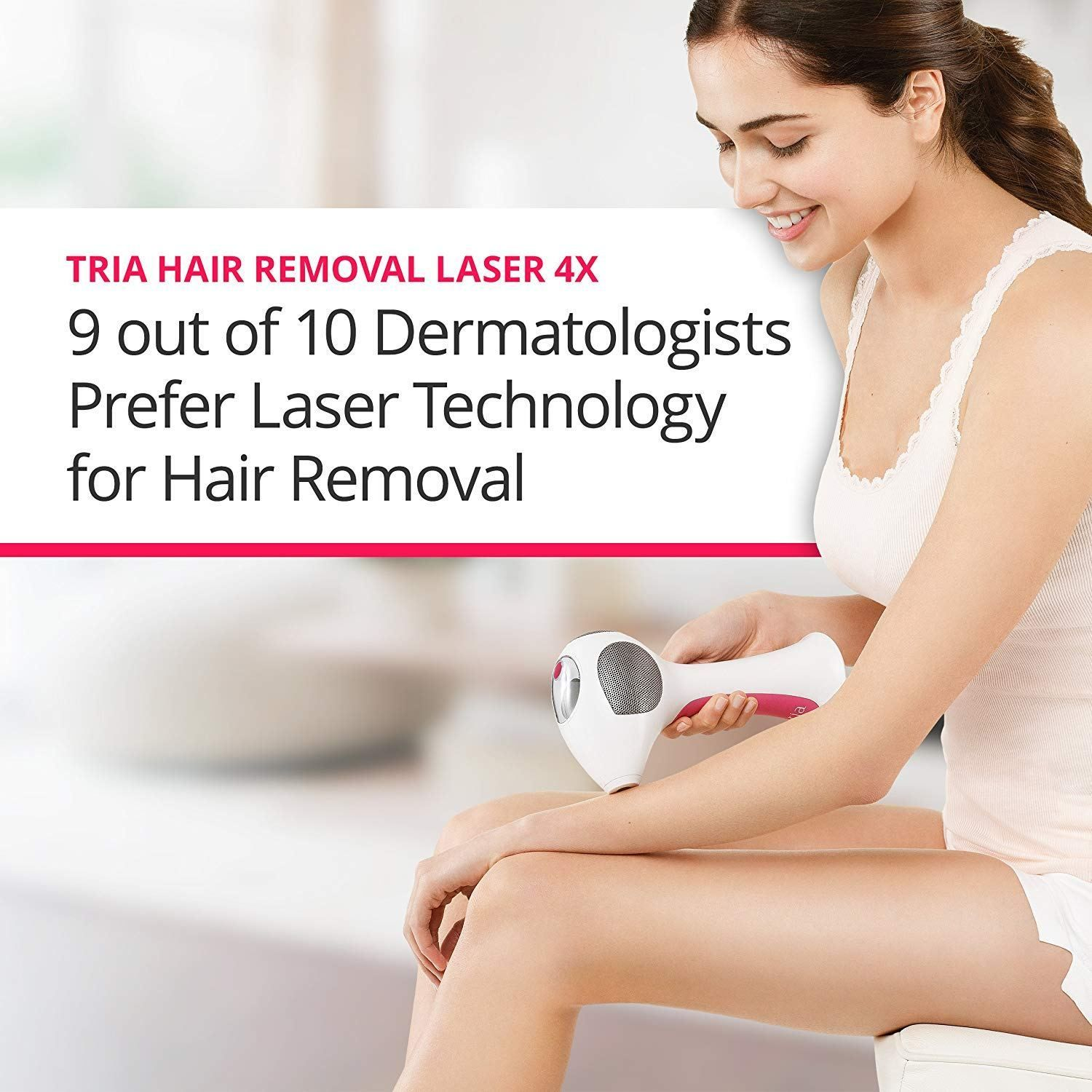 Laser Hair Removal At Home Women Product Review Tria