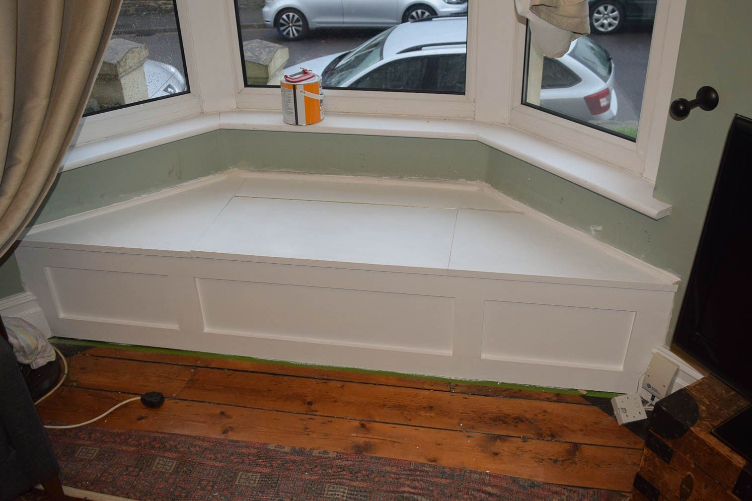 Incredible How To Build A Victorian Bay Window Seat With Storage Bay Gmtry Best Dining Table And Chair Ideas Images Gmtryco