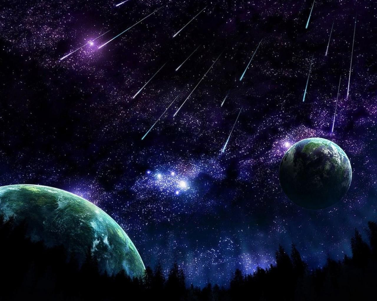 Meteor Shower Meteor Shower Hd Wallpaper Hd Wallpaper