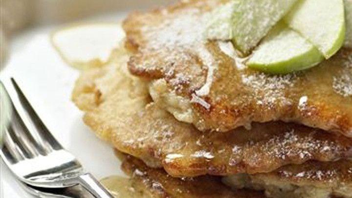 Apple pancakes Apple pancakes, Harvest recipes, Recipes