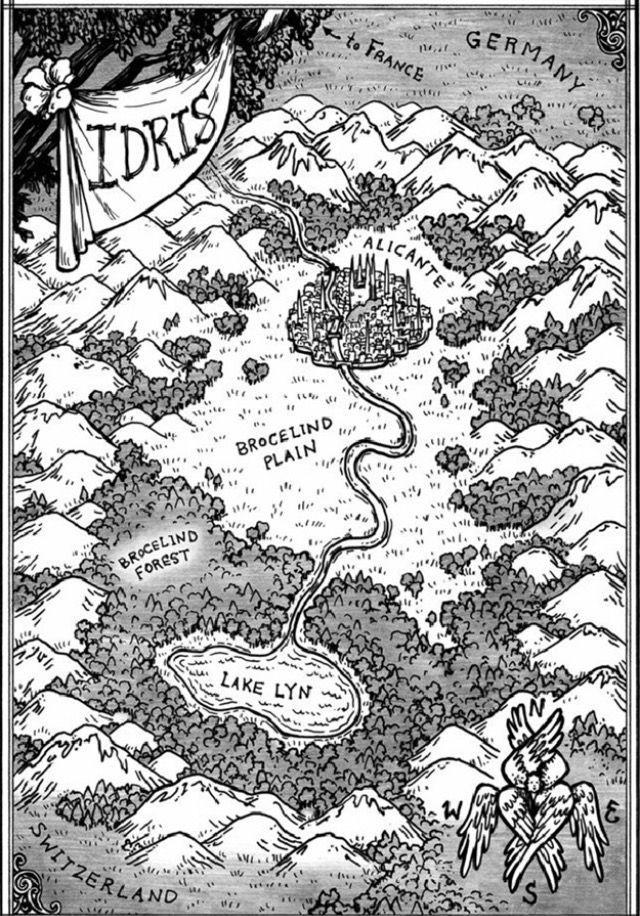 Shadowhunters - Idris Map.