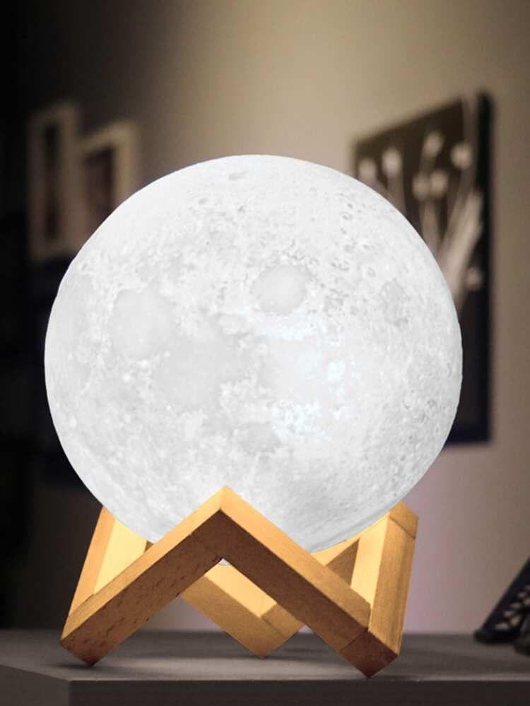 Moon Shaped Table Lamp 12v Shein Usa Table Lamp Night Light Lamp