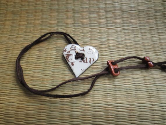 Heart on my sleeve suede wrapper by valkirytails on Etsy, $30.00