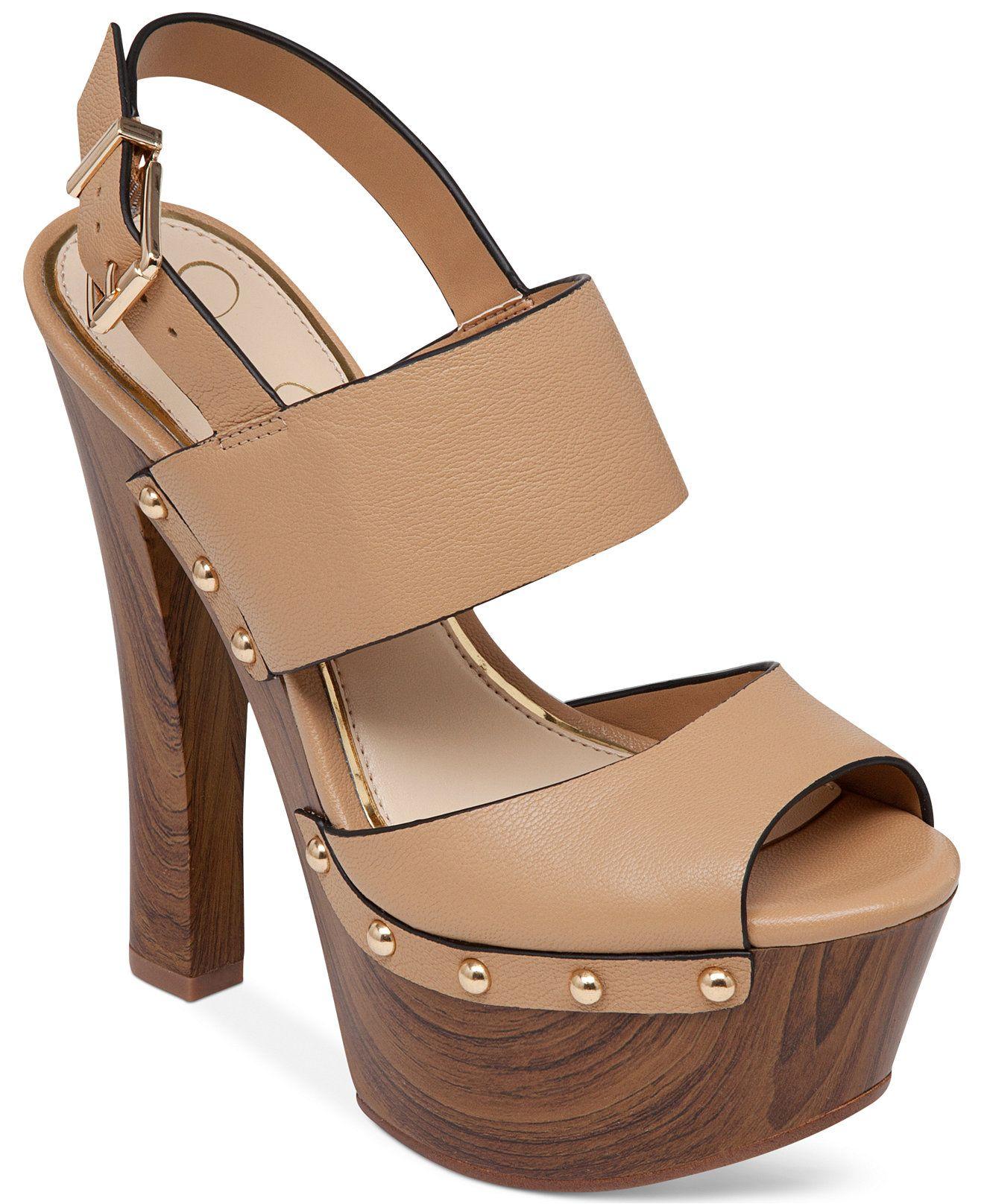 60cf6bf1114 Jessica Simpson Dallis Platform Sandals - Sandals - Shoes - Macy s ...