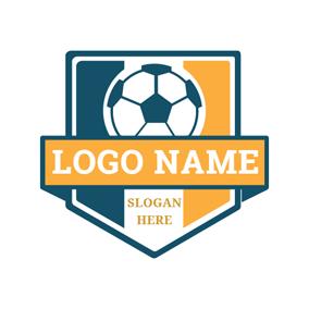 Soccer Ball Badge Logo Design Football Logo Design Logo Design Help Logo Design