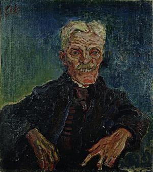 Painting Exhibition: Vincent van Gogh and Expressionism: Oskar Kokoschka: Hirsch as an Old Man
