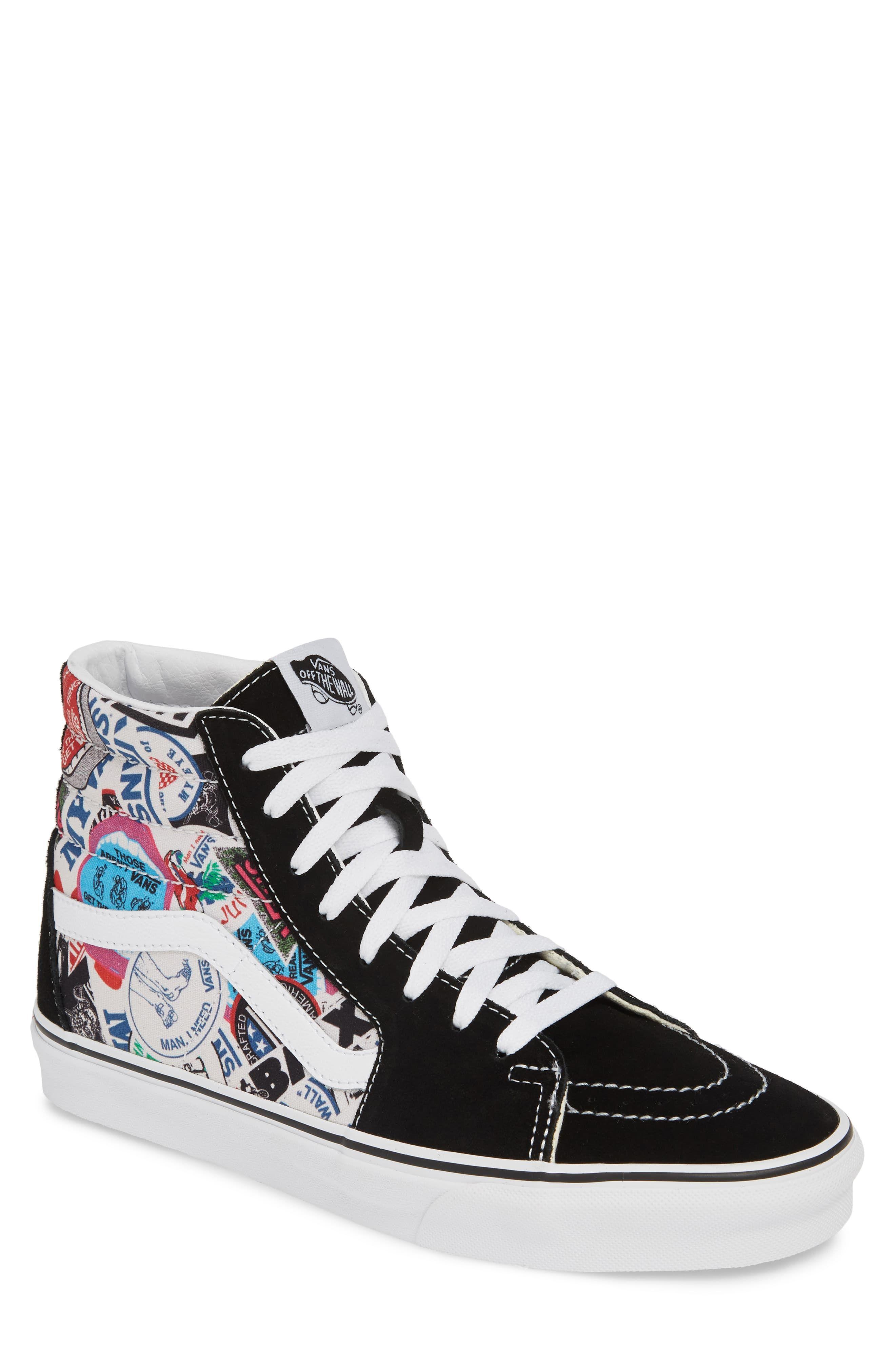 Men's Vans Sk8 Hi Reissue High Top Sneaker, Size 13 M