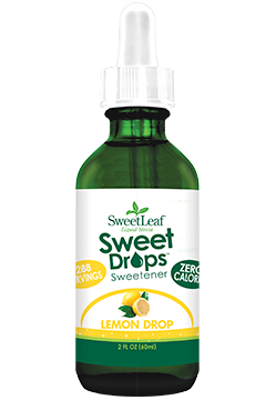 Sweetleaf Sweet Drops Sweetener Lemon Drop Ingredients Purified Water Organic Stevia Leaf Extract Natural Flavors L Stevia Liquid Stevia Flavor Drops