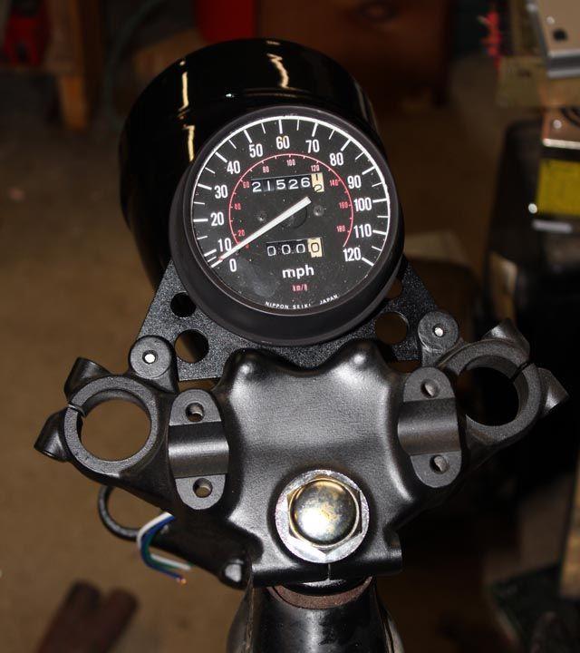 Motorcykel speedometer hook up