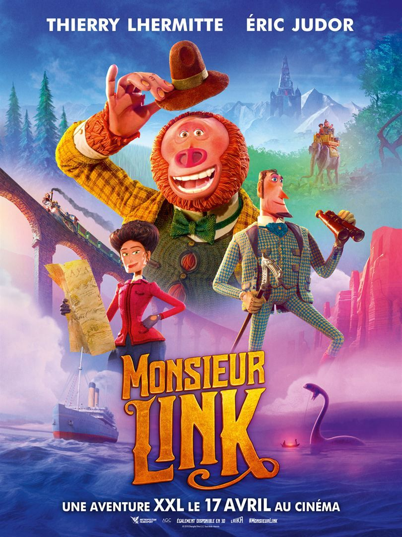 Monsieur Link Streaming Vf Film Gratuit Complet Hd 2019 Film Films Pour Enfants Films Complets