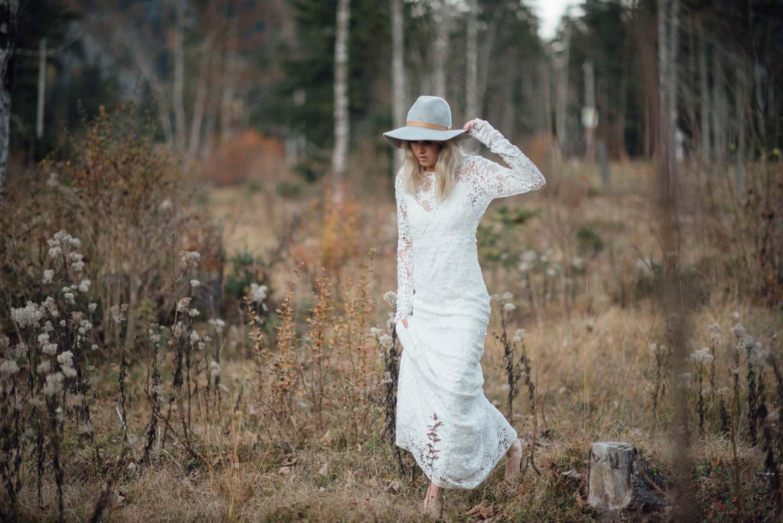 Eine Indian Summer-Braut in den Alpen | Hochzeitskleid | Pinterest ...