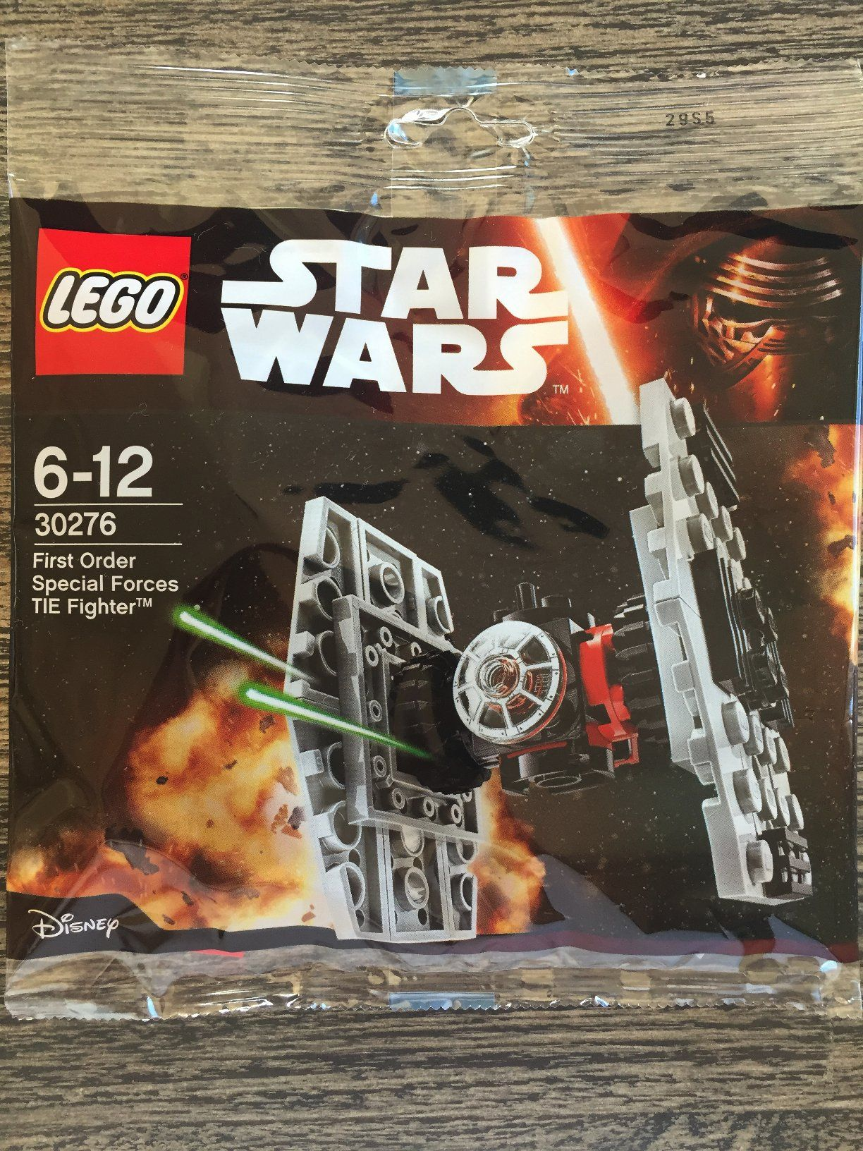 LEGO STAR WARS First Order Special Forces Tie Fighter 30276 Polybag New Sealed