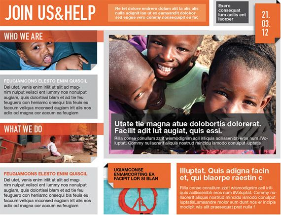 modern brochure design for non profit - Google Search | Graphic ...