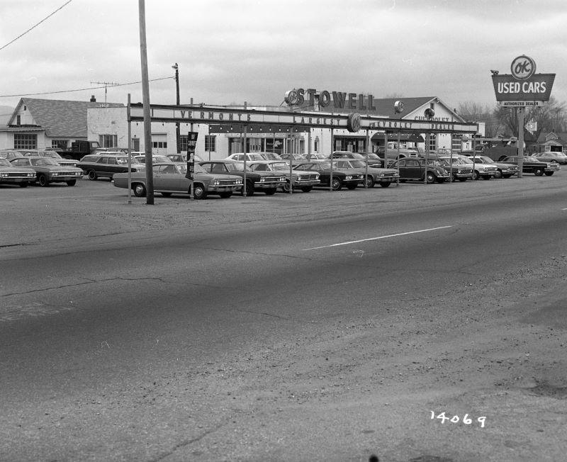 Chevy Dealership Buildings 19678 Chevrolet dealership