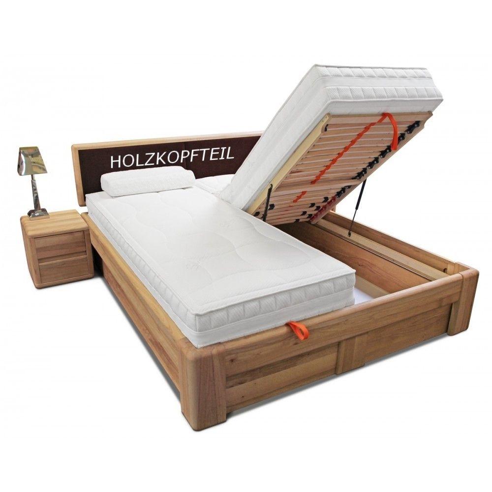 Bett 200 200 Mit Matratze Und Lattenrost Inspirational Verona Bett 200 200 Kernbuche Massiv Mit Bettkasten Und Bedroom Design Inspiration Outdoor Bed Bed