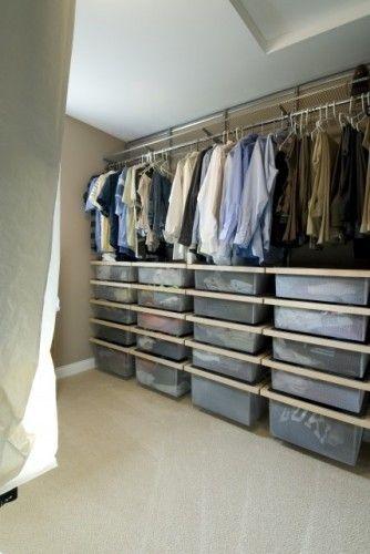 Attic Storage Via Atticworks Blogspot Com All About Attic Design Dachboden Speicher Begehbarer Kleiderschrank Dachschrage Kleiderschrank Fur Dachschrage