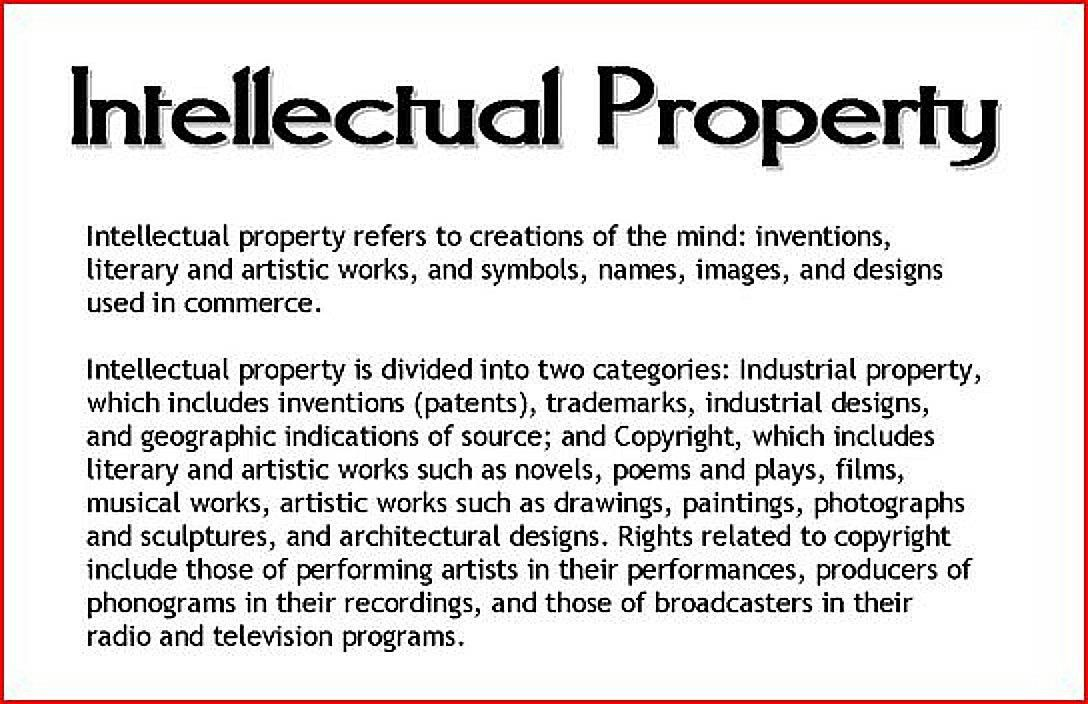 Definition of Intellectual Property Invention patent