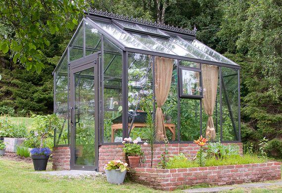 Garden  Greenhouse - växthus och orangerier - Växthus lui s vrga