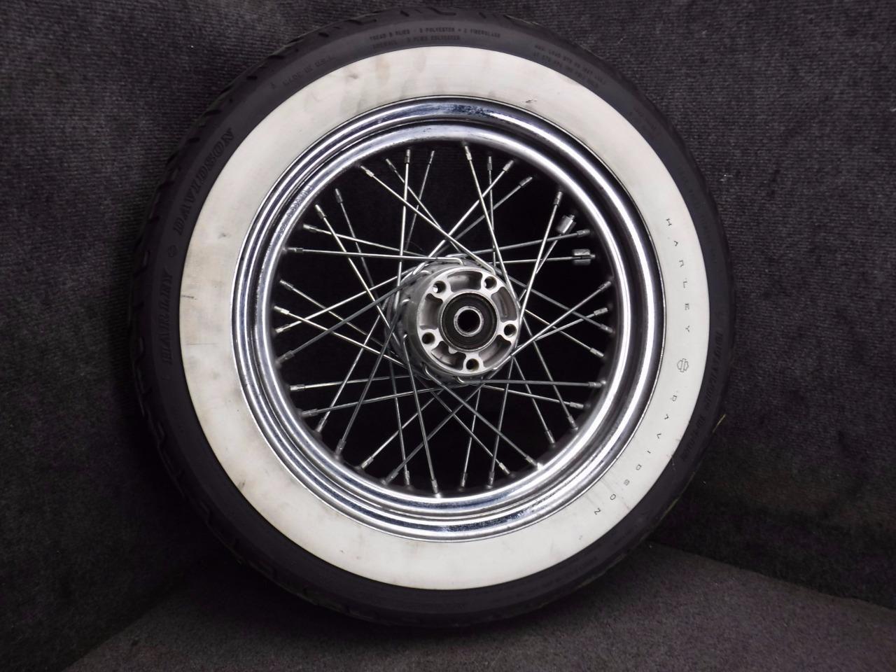 http://motorcyclespareparts.net/01-harley-road-king-flhr-flhrci-rear-rim-wheel-r6a/01 Harley Road King FLHR FLHRCI Rear Rim Wheel R6A