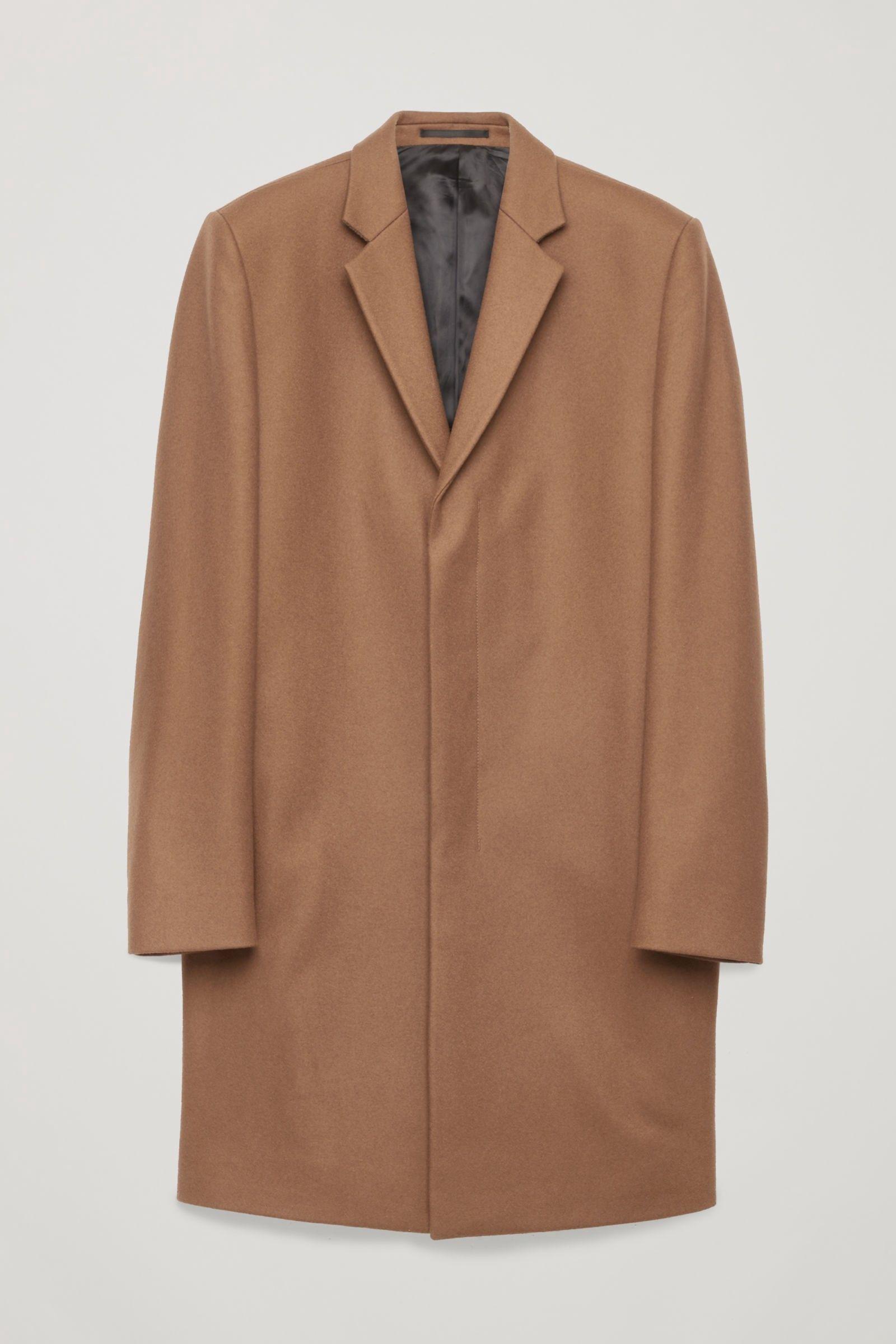 29d47b855593 Cos Tailored Coat - Light Walnut 36R Vestes Et Manteaux Homme, Veste Sans  Manches,