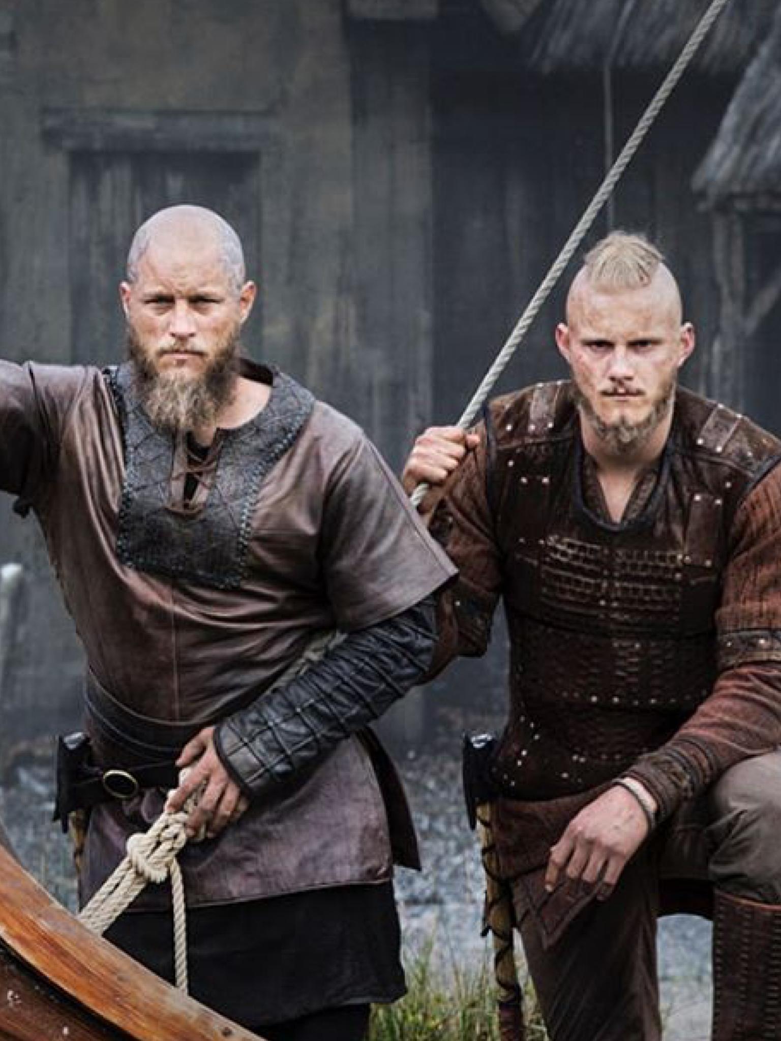 Ragnar Bjorn Vater Sohn Verbunden Ein Leben Lang Wikinger Ragnar Ragnar Ragnar Lothbrok