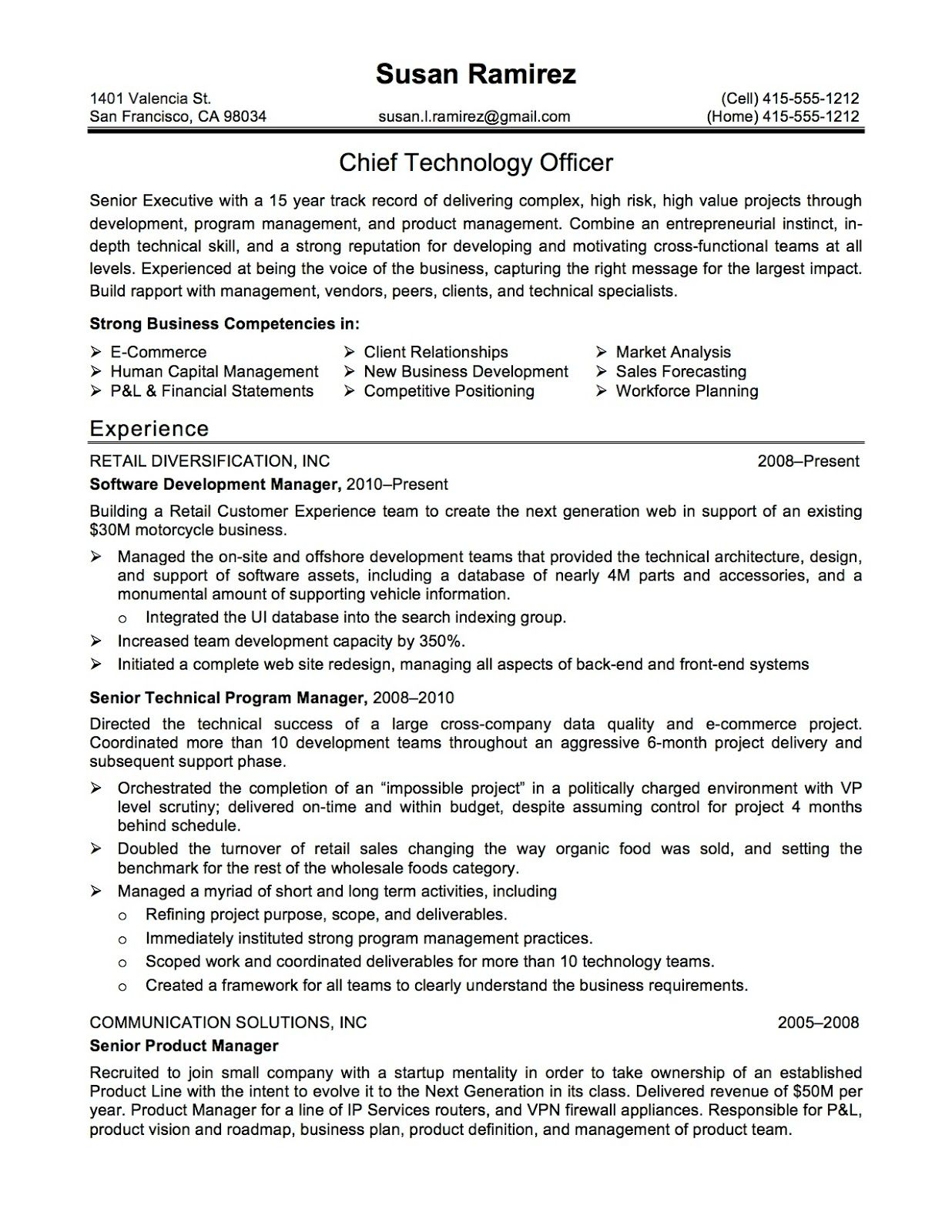 Sample Cto Resume Top Resume Templates  What To Look For  Resume Templates .