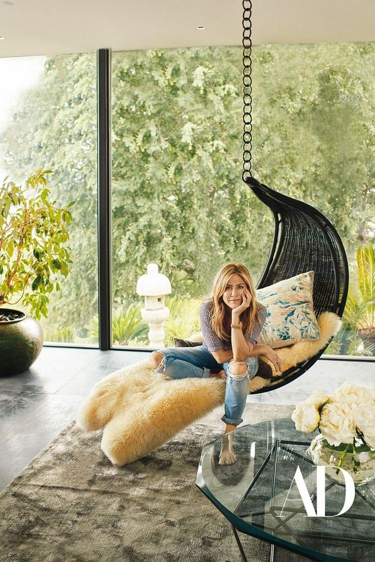 Jennifer Aniston Reveals Her Modern Home to AD Magazine   Home ...