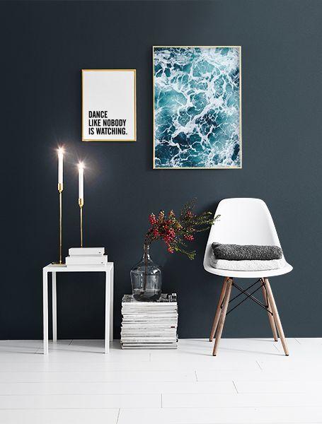 Plakat mit meeresfotografie poster desenio kunst - Poster wohnzimmer ...