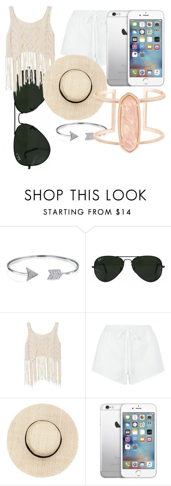 """""""Freedom"""" by tidewisher516 ❤ liked on Polyvore featuring Bling Jewelry, Ray-Ban, Chloé and Kendra Scott"""