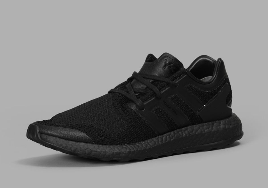 Y3 Pureboost Sneakers   'Triple Black'   Available Now