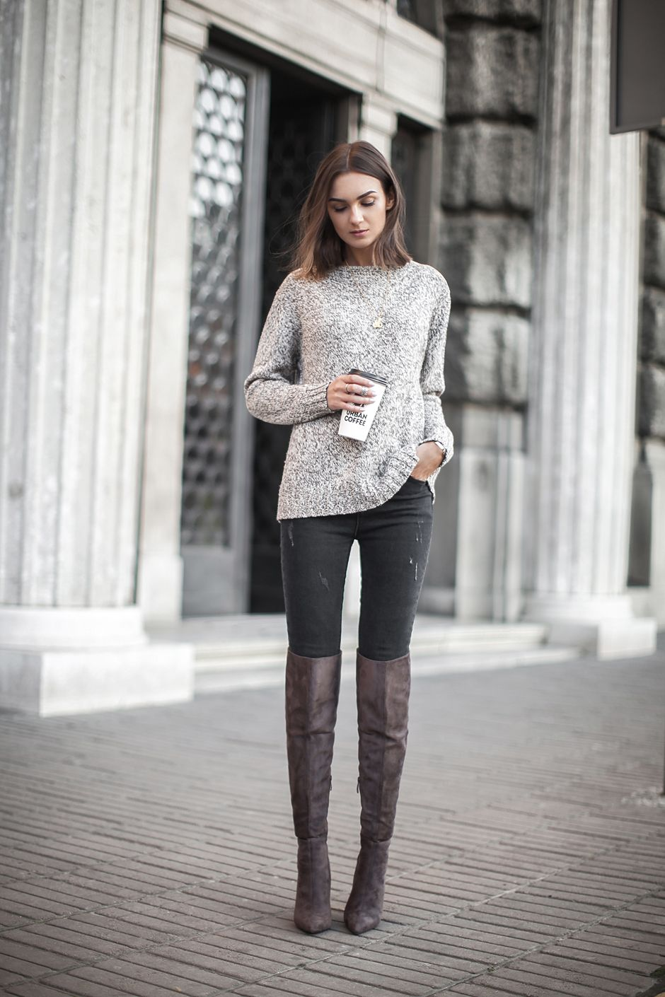 overknees (Fashion Agony) | Over the knee boots outfits ...