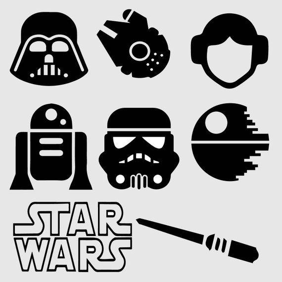 Star Wars Bullet Journal Stencil Stencil Products