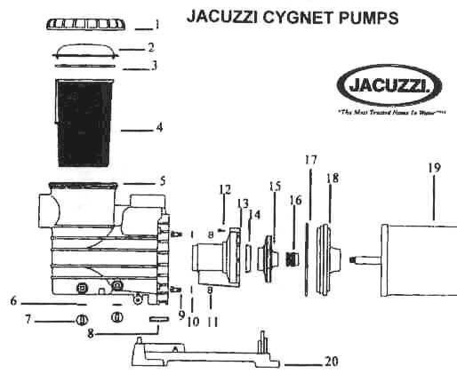 32 Pool Pump Parts Diagram