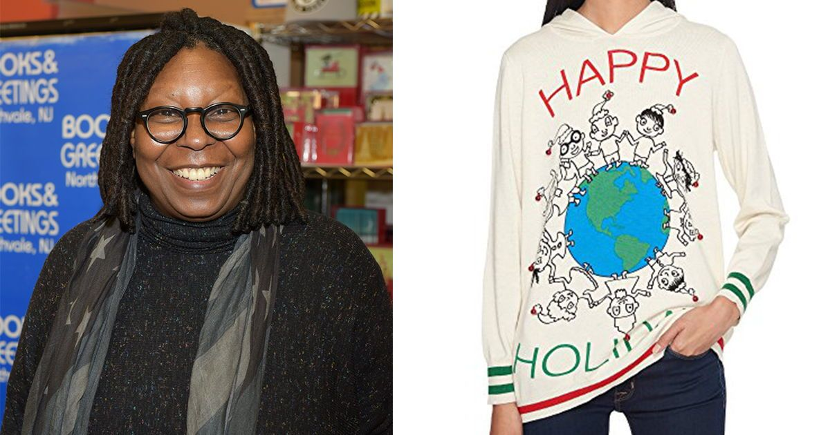 Why Whoopi Goldbergs Holiday Sweater Collection Holds A Special