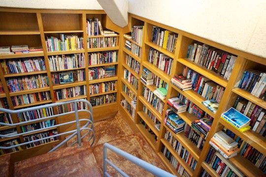 i like the idea of the library built in to the side of your stairs @Melanie Brain- she has windows straight across like yours