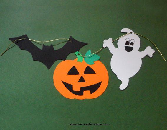 Festone di halloween fai da te in halloween attivit - Decorazioni di halloween fai da te ...