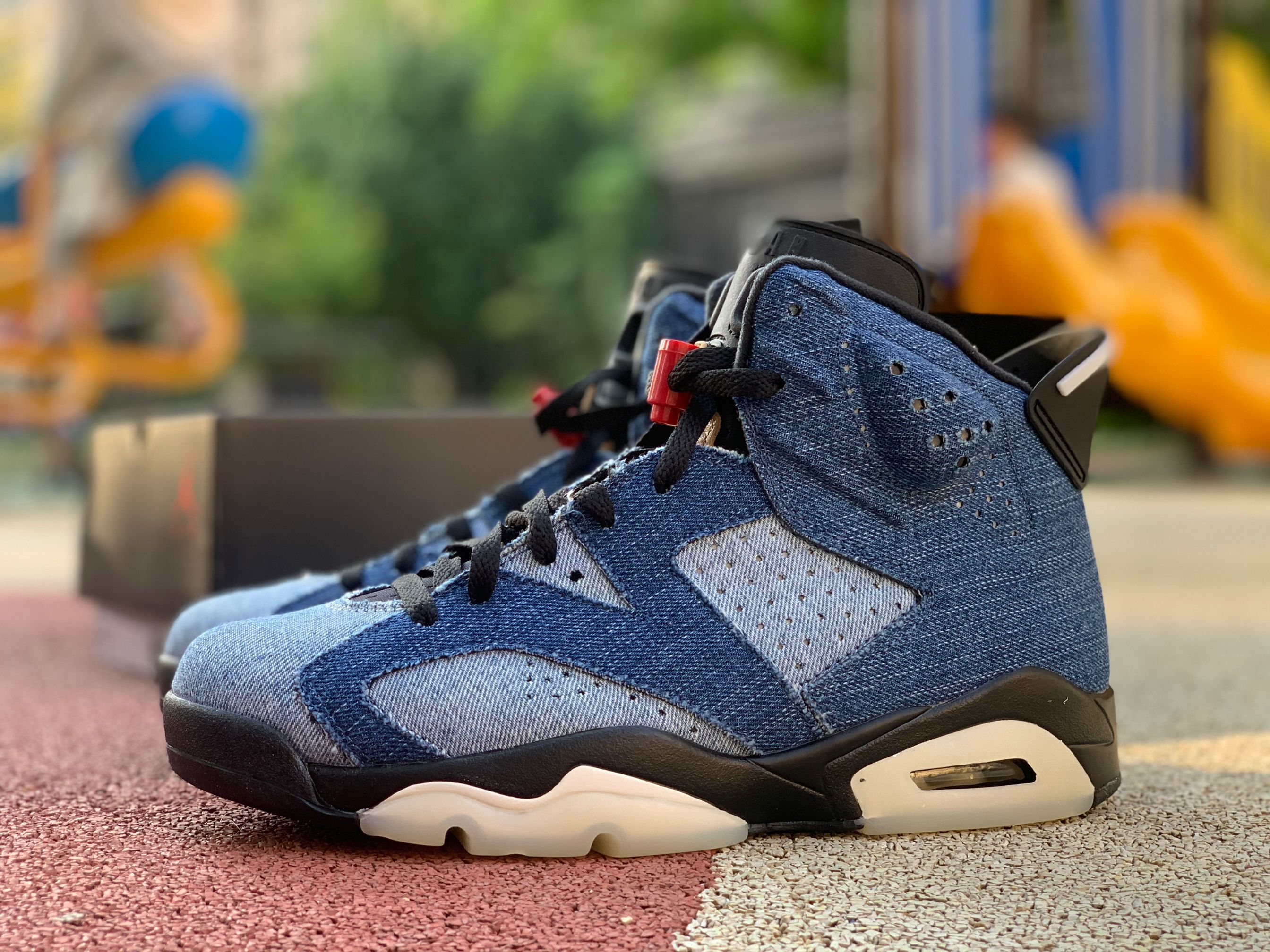 "Cheap Air Jordan 6 ""Washed Denim"" For Sale CT5350401 in"
