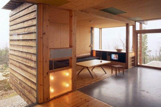 Carl-Viggo Hølmebakk, Mountain Cottage, Norway, stilts, pinewood, local wood, architecture, stilts