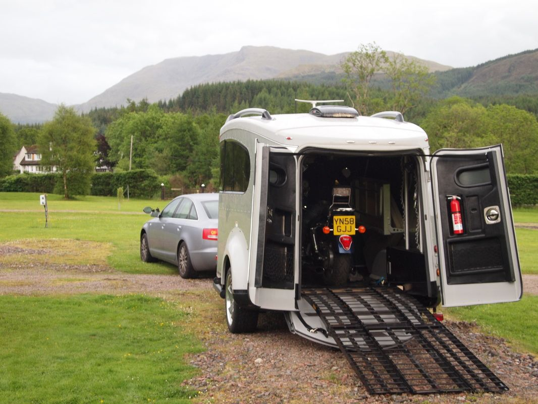 for motorbikers Airstream Basecamp for sale