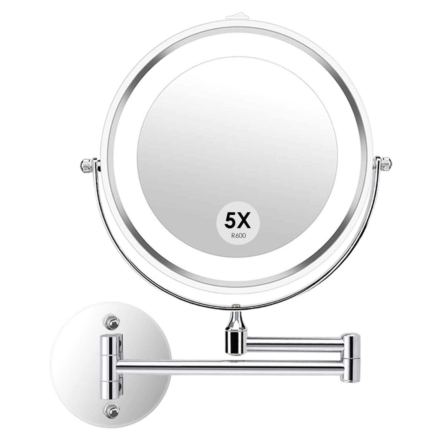 Wall Mounted Makeup Mirror Led Lighted