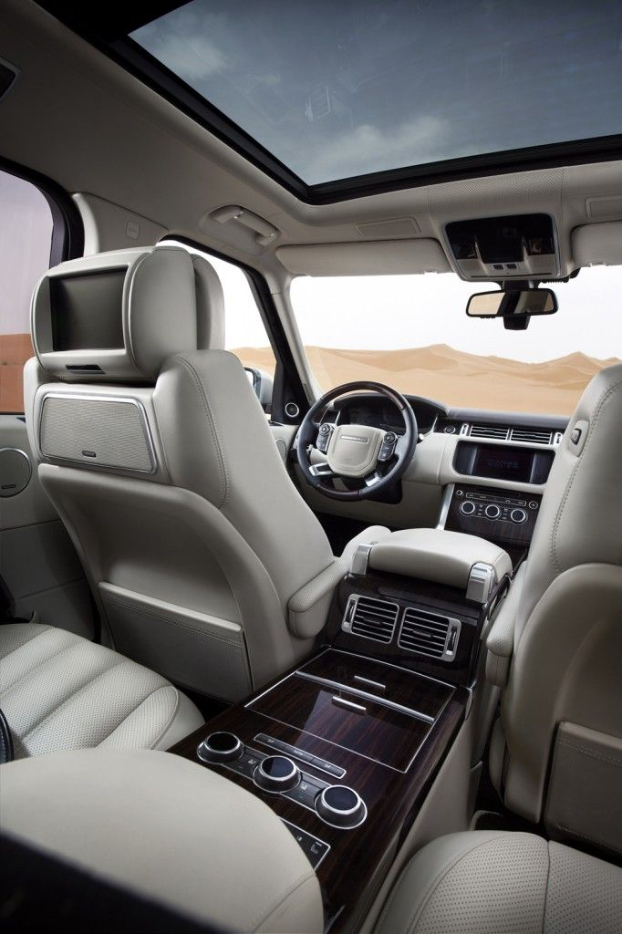 Land Rover & Range Rover new cool interior | Travel | Pinterest ...