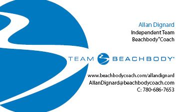 Build Your Own Team Beachbody Business Card Beachbody Coach