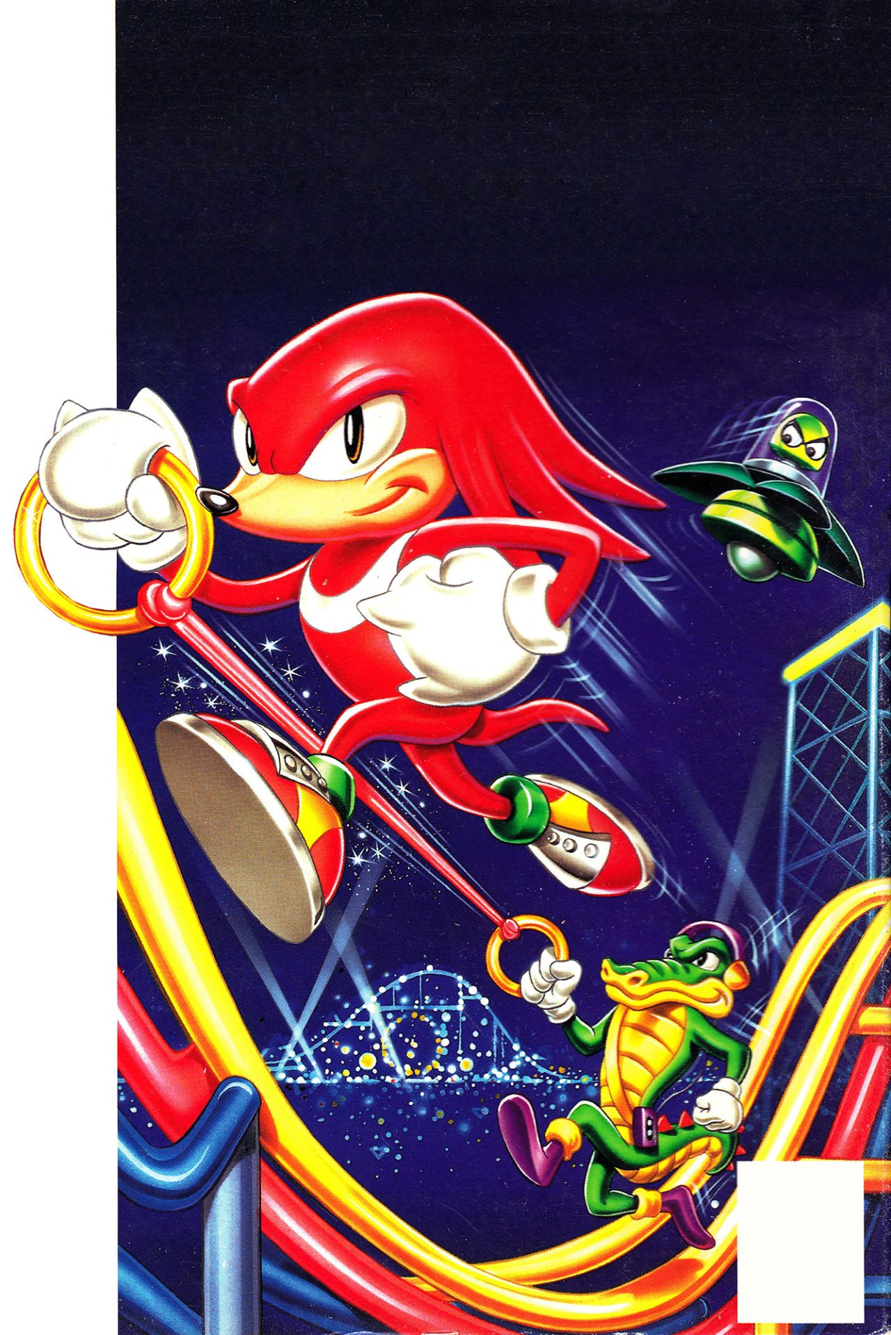 0defe7ce8e9 The Video Game Art Archive - Knuckles Chaotix! This weird 32x spinoff of  the.