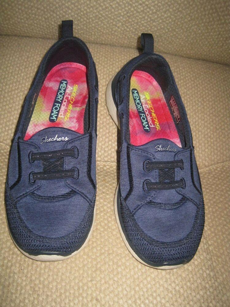 skechers memory foam boat shoes
