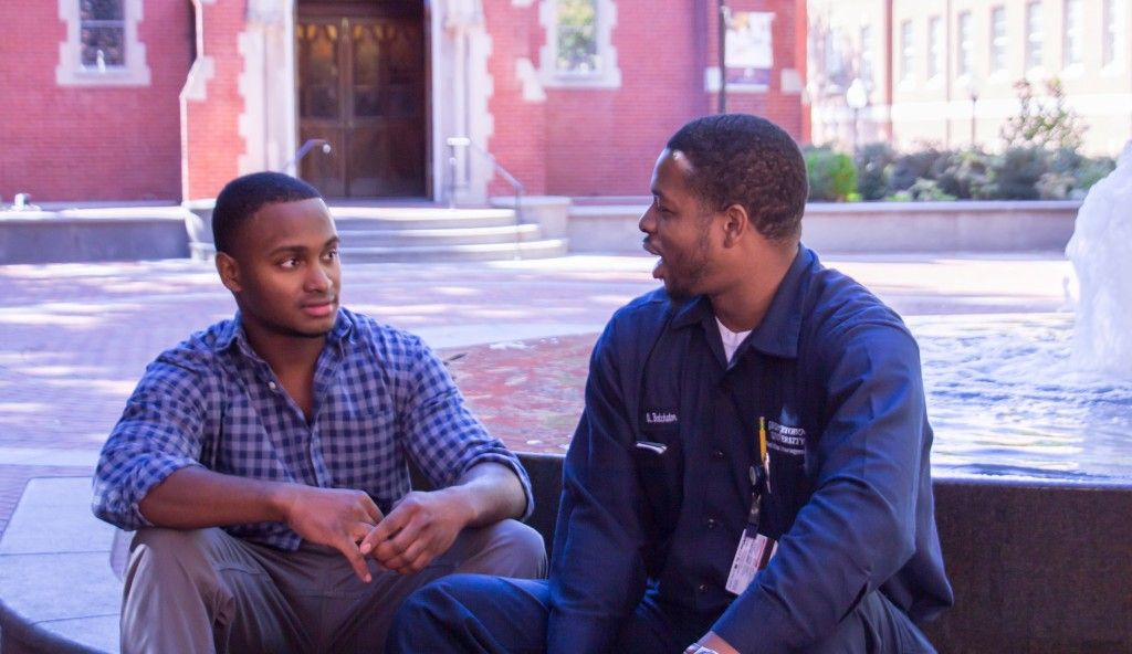 The janitor felt invisible to Georgetown students u2014 until one - another word for janitor