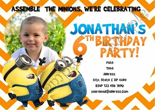 minions birthday invitation, despicable me party, free thank you, Birthday invitations