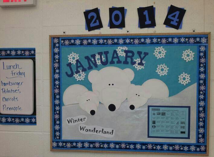 January Classroom Decor : Polar bear bulletin board ideas